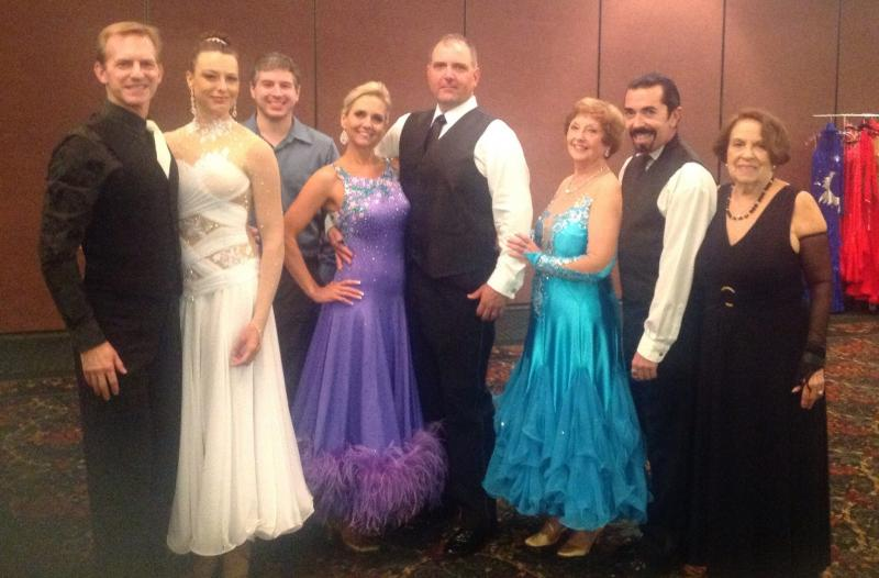 Preparing for competition at DanceSport Greenville